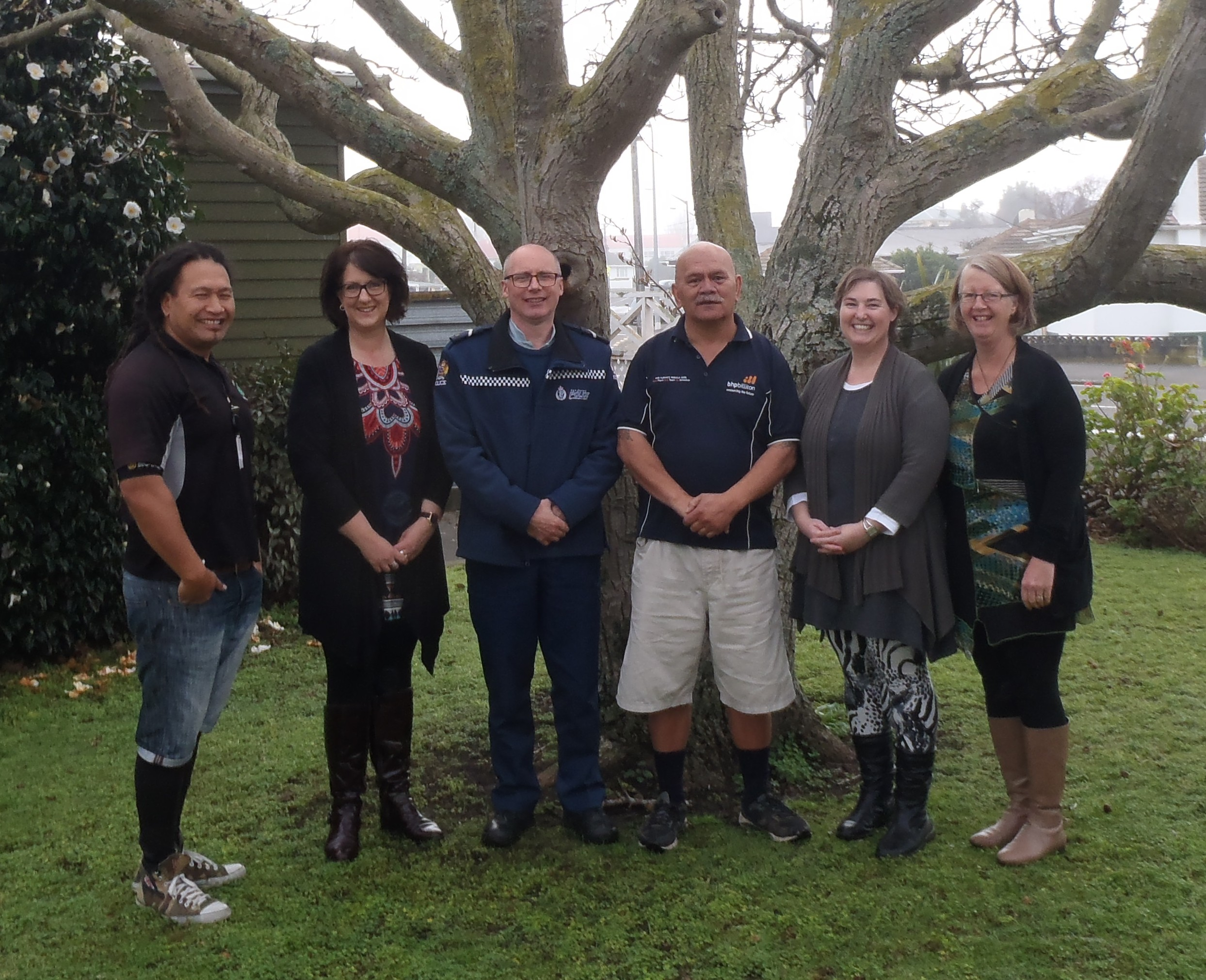 LTTM staff – Paul, Liz, Graham, Alex, Annie & Val